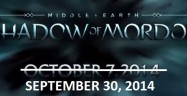 Middle Earth: Shadow of Mordor Release Date Banner Artwork