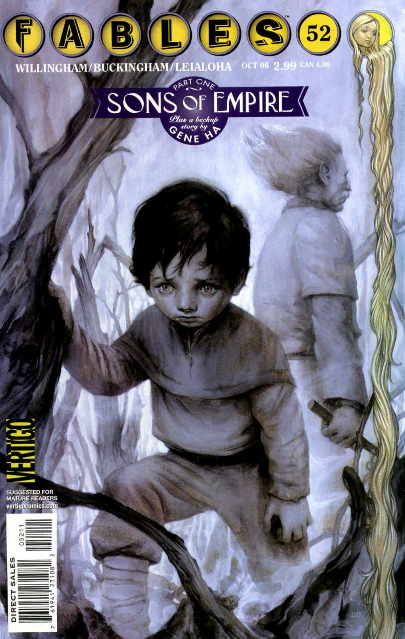 Pinocchio on Fables cover 52