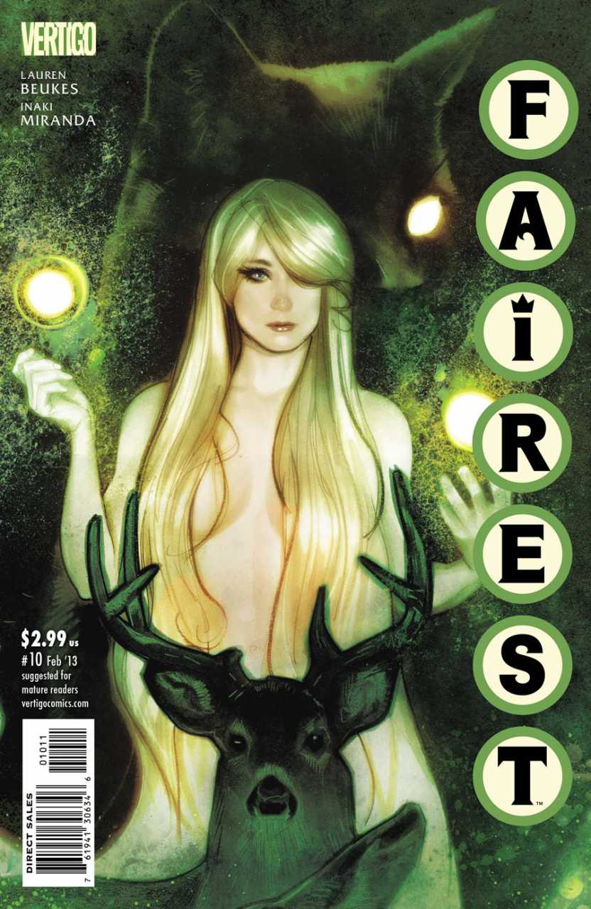 Rapunzel on Fables cover 10