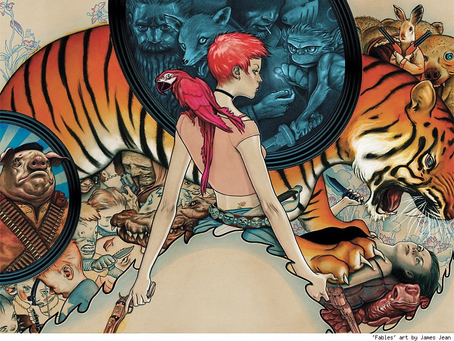Rose Red & The Farm Animals on Fables: The Deluxe Edition cover 1