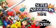 Super Smash Bros 3DS Release Date