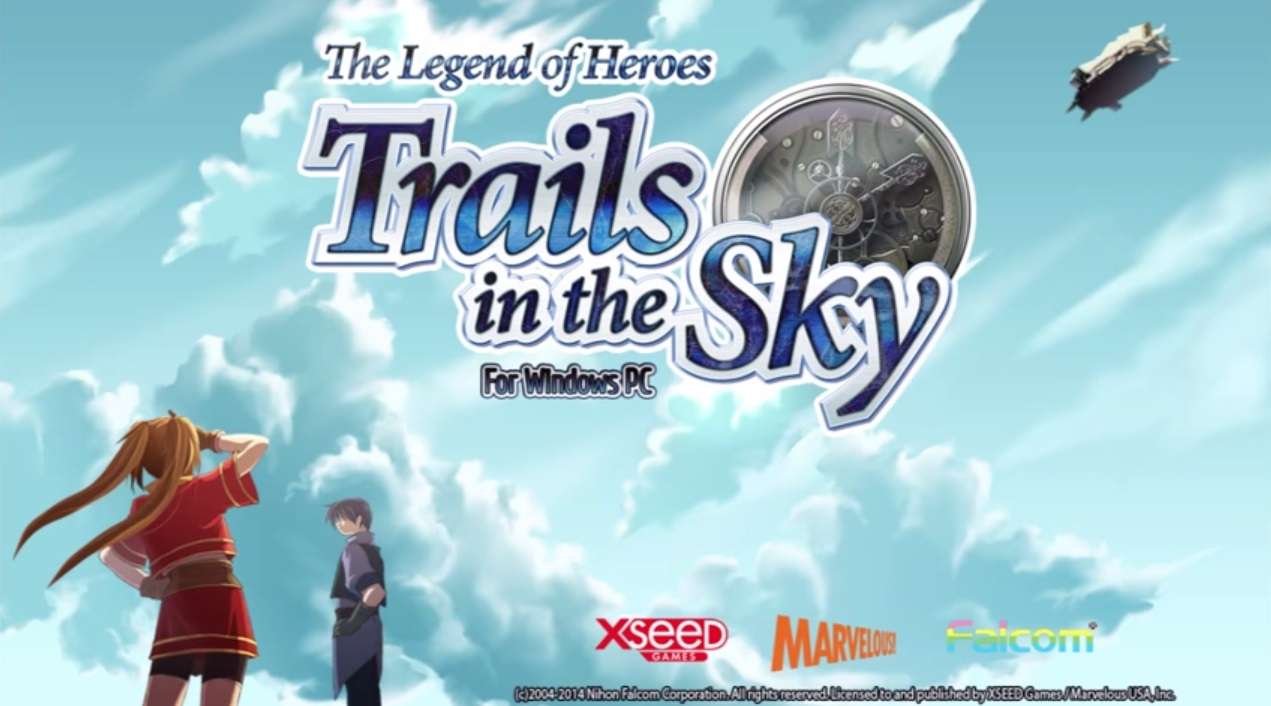 Trails In The Sky Wallpaper Logo
