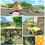 Dry Bowser Animal Crossing Villager Isabelle Mario Kart 8 Pack 2 Gameplay Screenshot Montage