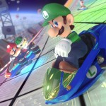 F-Zero Mario Kart 8 Blue Falcon Luigi Gameplay Screenshot DLC Pack 1