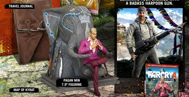 Far Cry 4 Collector S Edition Announced Video Games Blogger