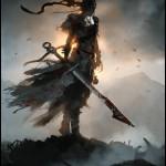 Hellblade Senua In Battle artwork