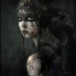 Hellblade Senua Portrait artwork