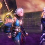 Hyrule Warriors Impa With Shiek and Link Screenshot Wii U