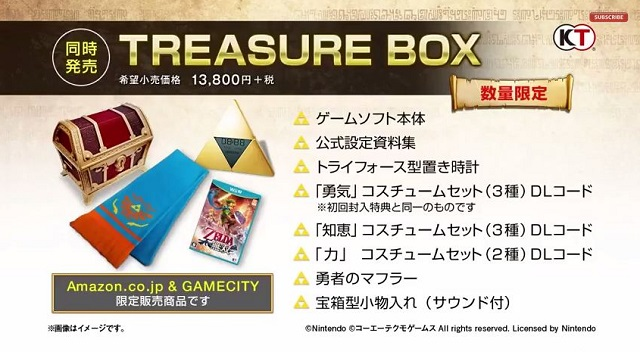 Hyrule Warriors Japanese Limited Edition Banner