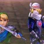 Hyrule Warriors Link Sheik Playable Characters Screenshot Wii U