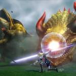 Hyrule Warriors Sheik Attacks Gameplay Screenshot Wii U
