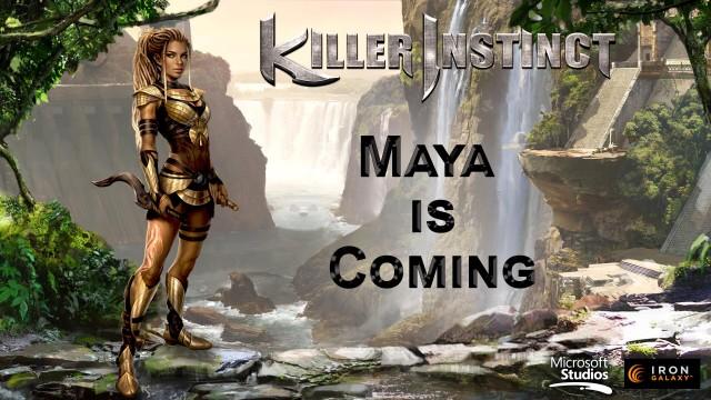 Killer Instinct Season 2 Maya artwork wallpaper