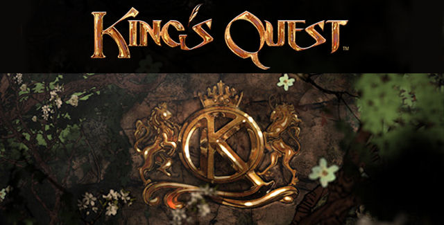 King's Quest 9 logo