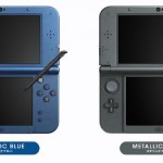 New 3DS XL 2015 Nintendo System Colors Metallic Blue Black