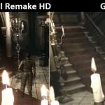 Resident Evil Remake HD Remaster Banner Artwork Graphics Comparison