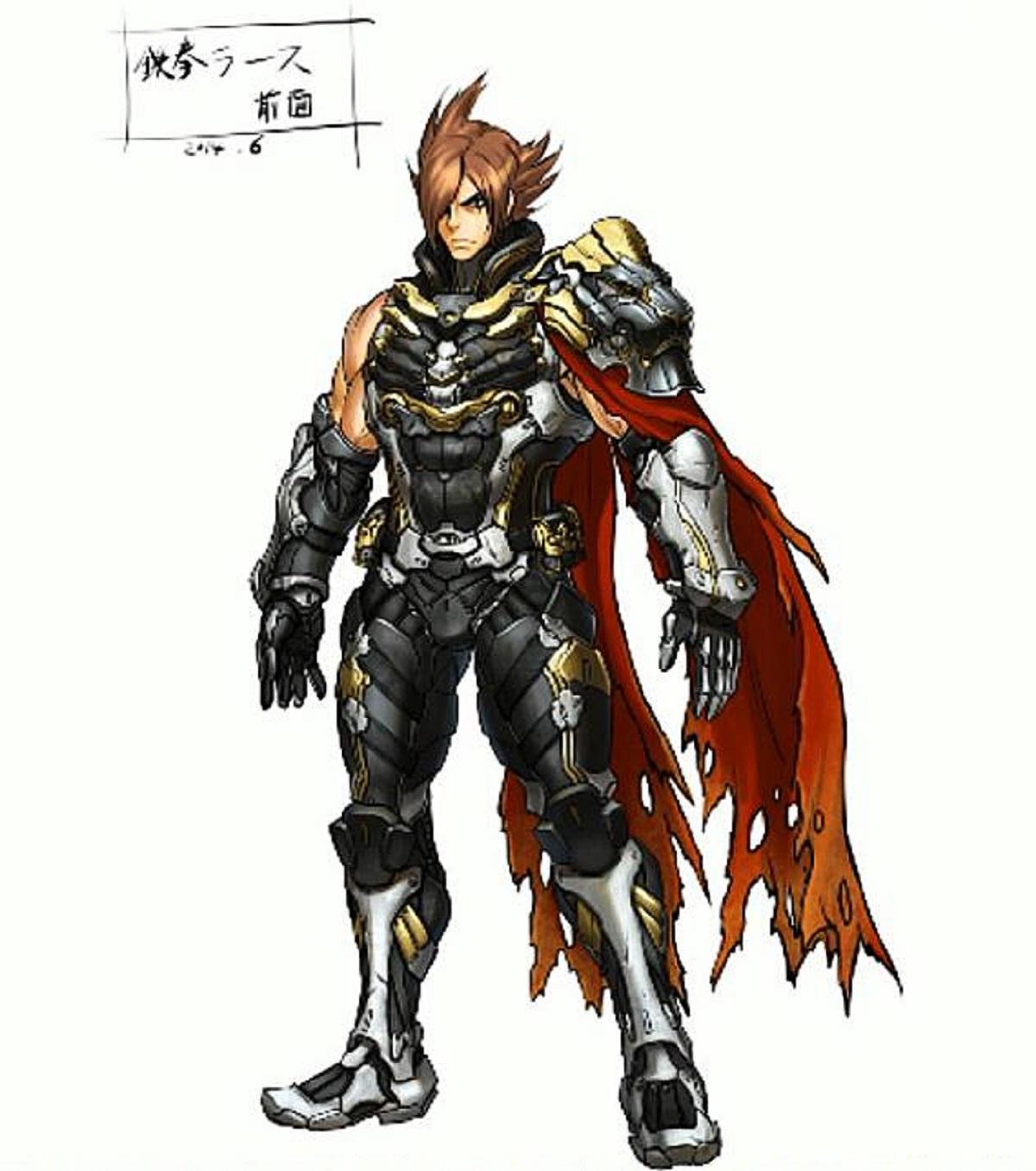 Tekken 7 Lars Alexander Concept Artwork