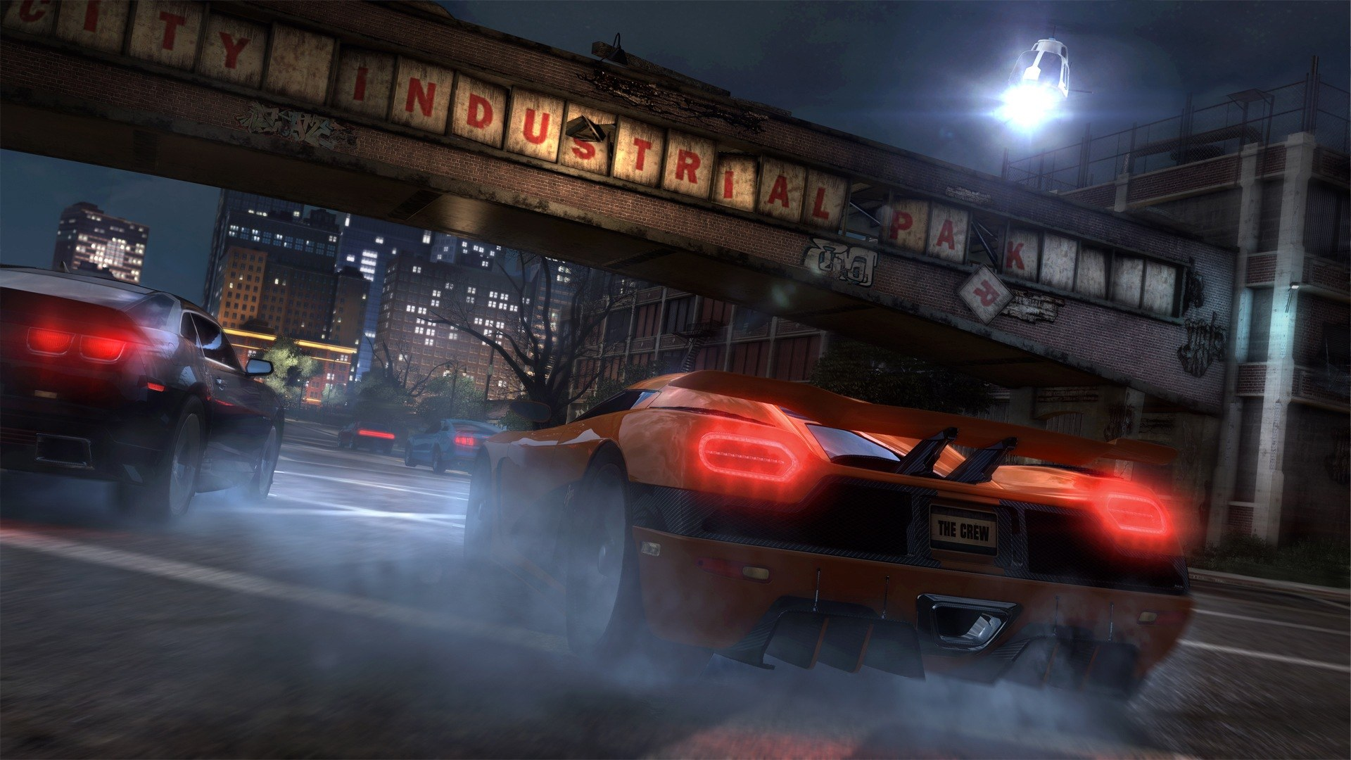 The Crew Videogame Industrial Gameplay Screenshot