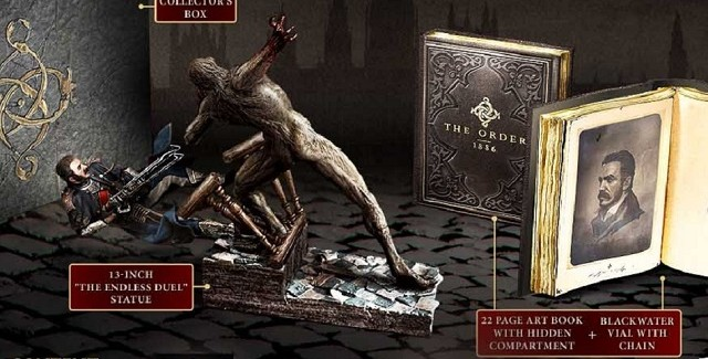 The Order 1886 Figure Special Edition Banner Artwork