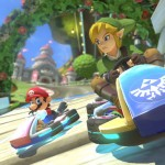 Zelda Karting Link Mario Kart 8 Gameplay Screenshot DLC Pack 1