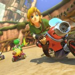 Link Mario Kart 8 Zelda Rides Motorcycle DLC Pack 1 Gameplay Screenshot