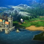 Bravely Second Overworld Gameplay Screenshot 3DS