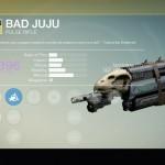 Destiny Bad Juju Exotic pulse rifle