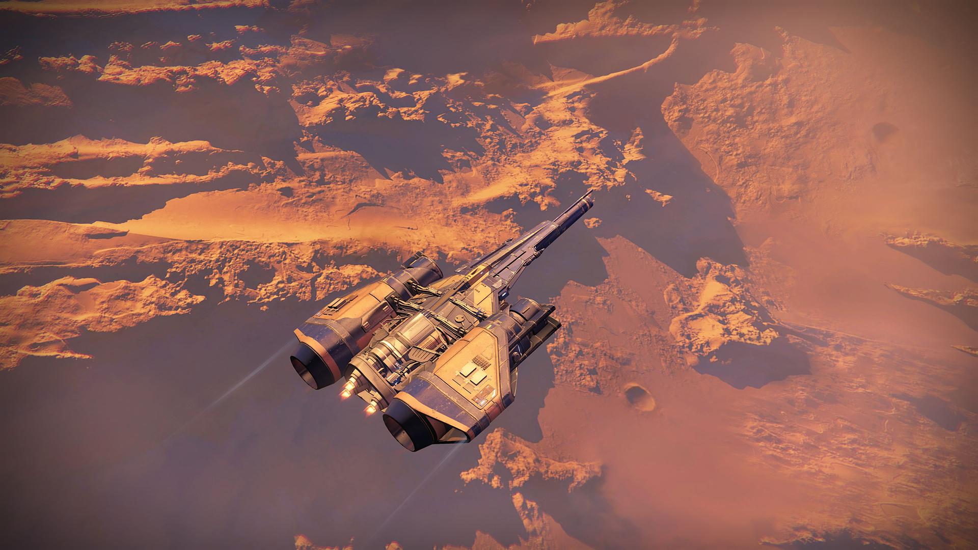 Destiny Gameplay Screenshot Surface of Mars the Red Planet