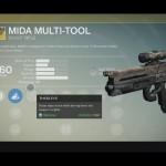 Destiny MIDA Multi-Tool Exotic scout rifle