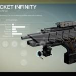 Destiny Pocket Infinity Exotic fusion rifle