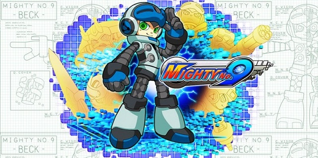 Mighty No. 9 Banner Artwork Official