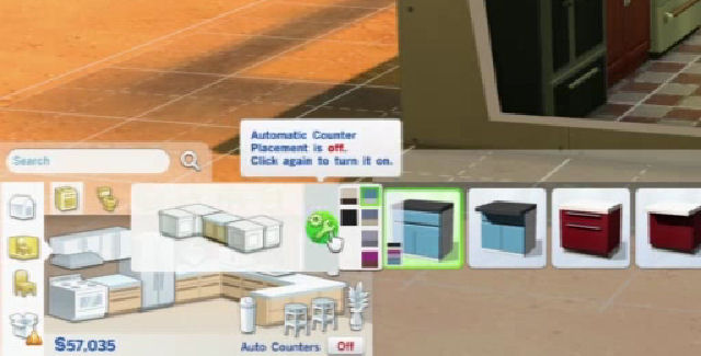 The Sims 4: How To Place Cabinets & Counters