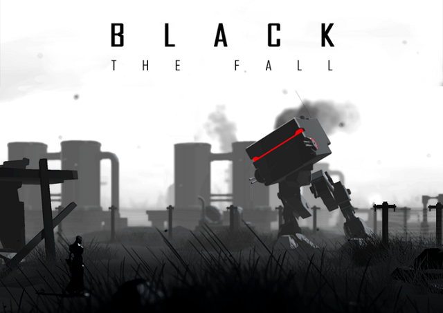 Black The Fall Banner Artwork