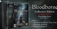 Bloodborne Collector's Edition Contents Soundtrack Artbook Steelbook Case