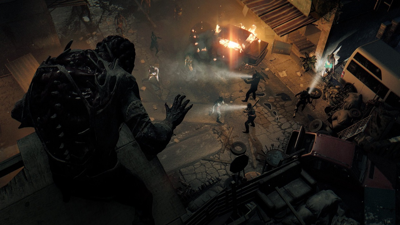 Dying Light Gameplay Screenshot Death From Above