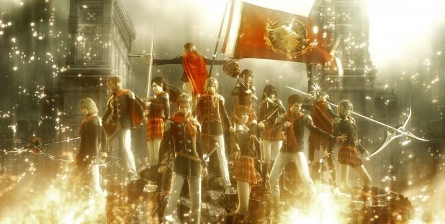 Final Fantasy Type-0 HD Badass Team Zero CG Wallpaper