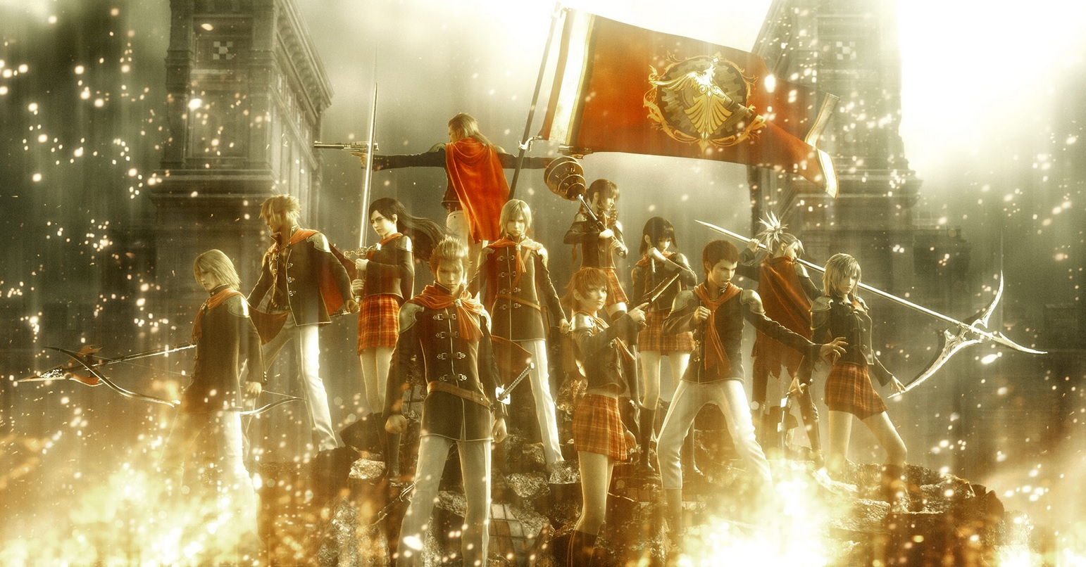 Final Fantasy Type-0 HD Badass Team Zero CG Wallpaper