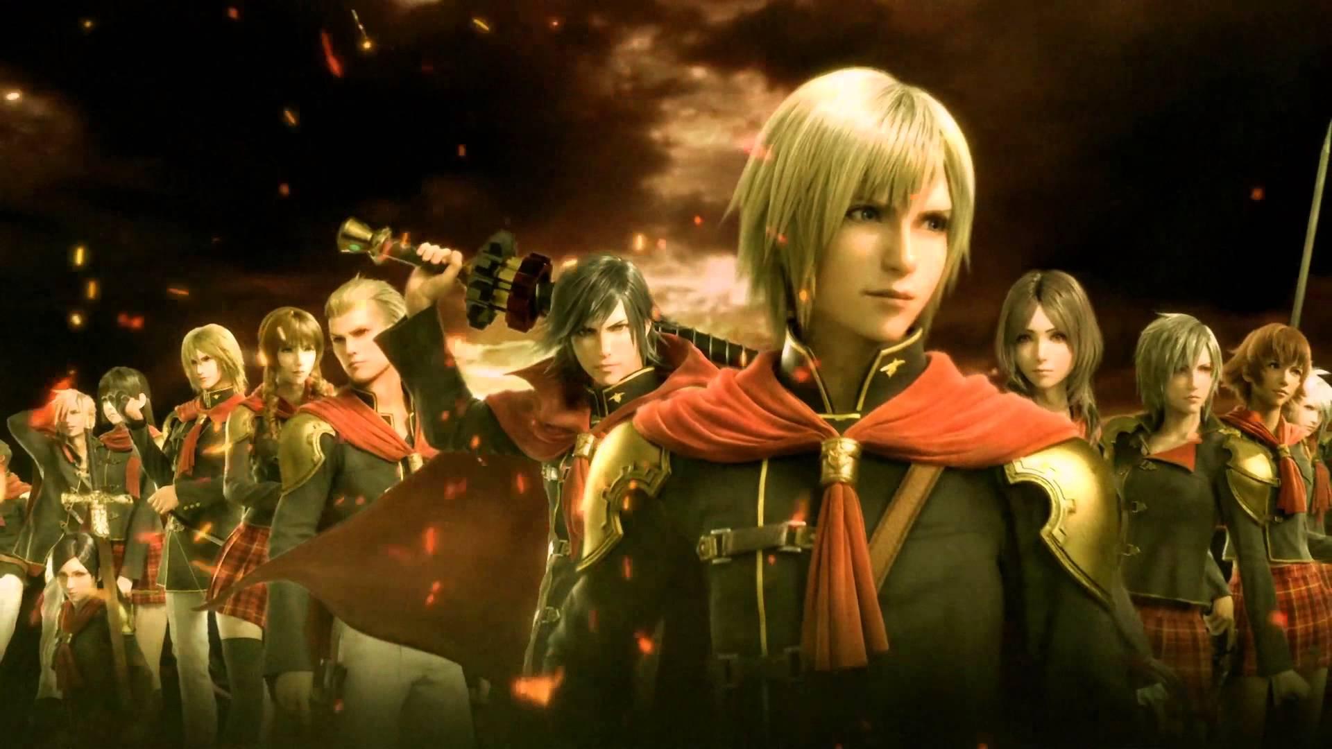 Final Fantasy Type-0 HD Cast Team Zero Members Lineup Wallpaper