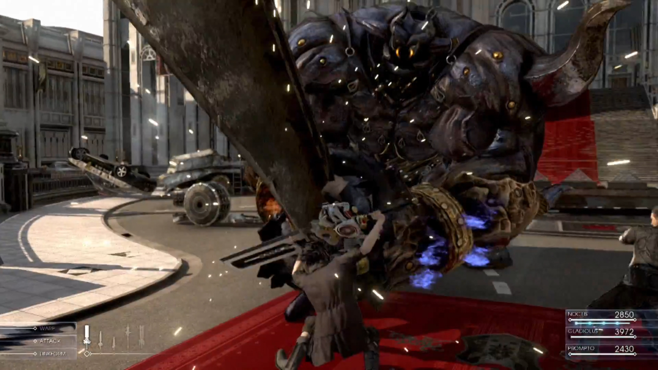 Iron Giant Final Fantasy XV Gameplay screenshot Enemy