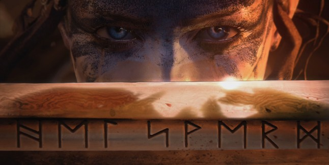 Hellblade Eyes Banner PS4