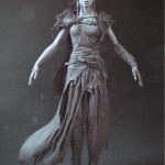 Hellblade PS4 Senua 3 Concept Artwork