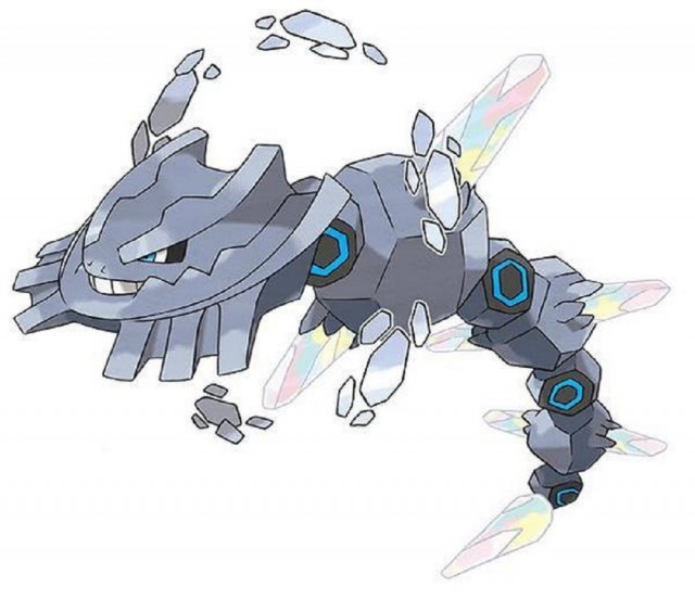 Mega Steelix Omega Ruby Alpha Sapphire Pokemon Official Artwork 3DS