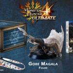 Monster Hunter 4 Ultimate Collector's Edition 3DS Contents Gore Magala Figure Felyne Pin Lanyard Cloth Supply Boxset