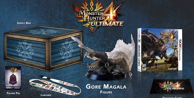 Monster Hunter 4 Ultimate Collector's Edition Banner