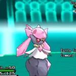 Pokemon XY Diancie Battle Screenshot Gameplay