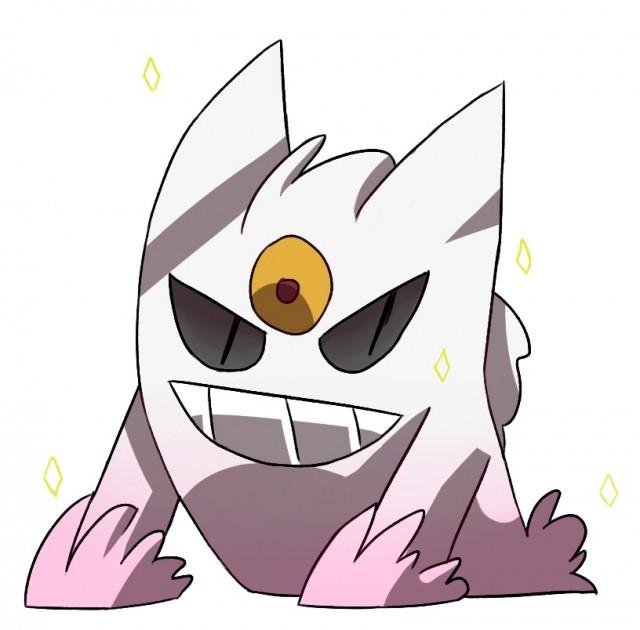 Pokemon XY Shiny Mega Gengar Fanart
