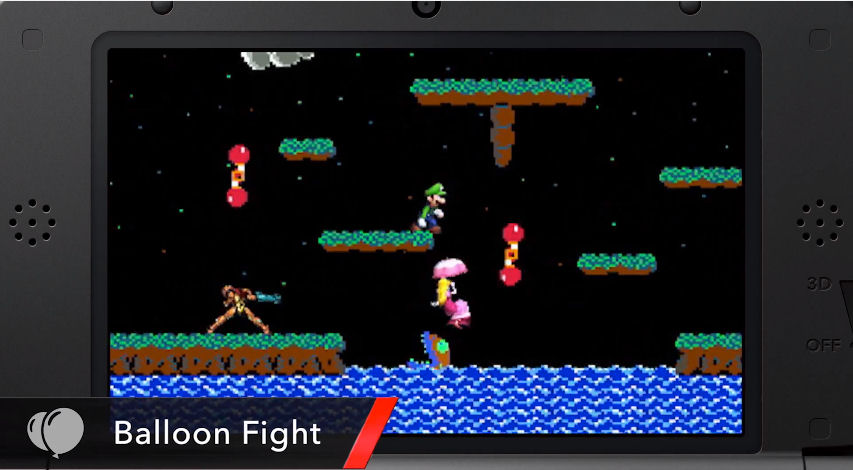 Super Smash Bros 3DS How To Unlock Balloon Fight Stage
