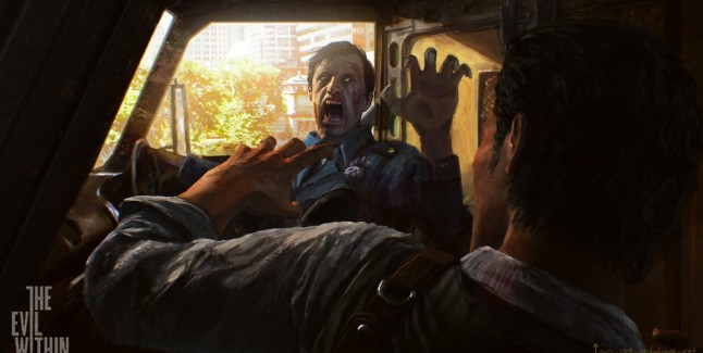 The Evil Within Artwork 1