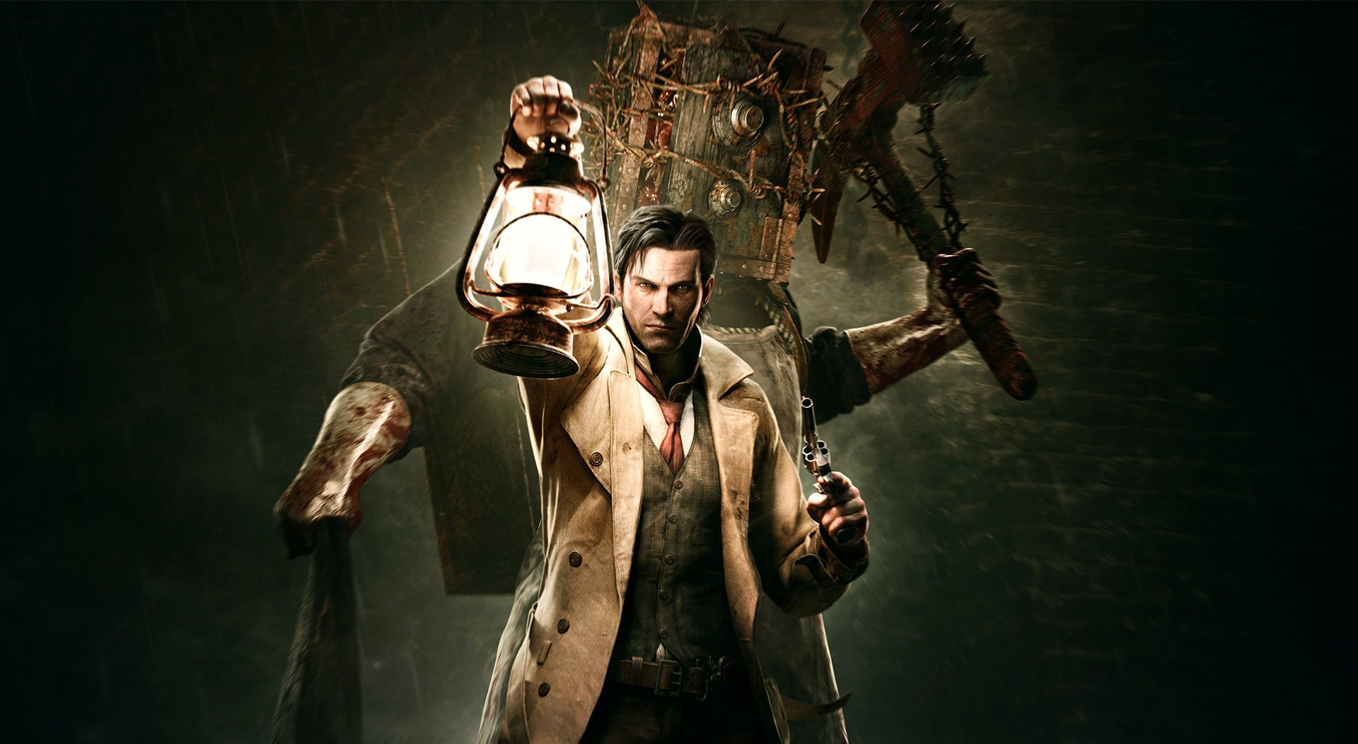 The Evil Within Wallpapers Or Desktop Backgrounds: The Evil Within The Keeper And Sebastian Castellanos Wallpaper