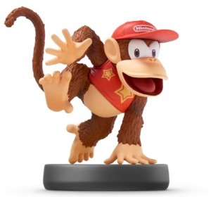Toy Diddy Kong Amiibo Wii U 3DS