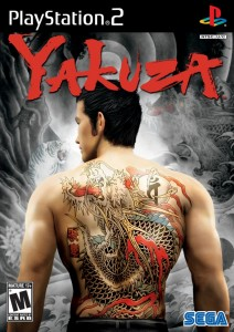 Yakuza 1 PS2 Box Art Front USA 2006